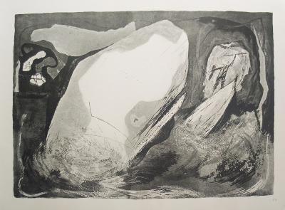 The Last Thrust-Benton Spruance-Art Print