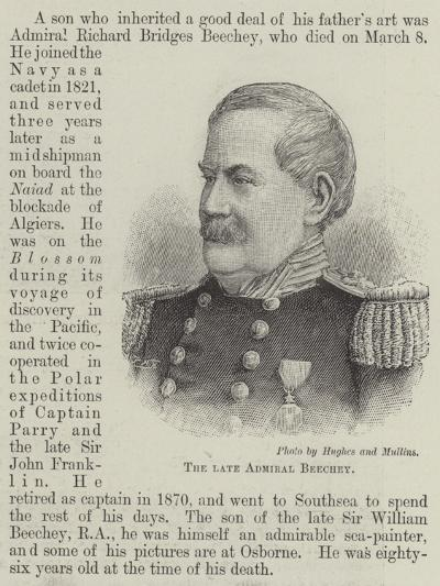 The Late Admiral Beechey--Giclee Print