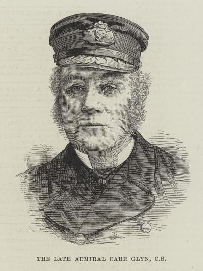 The Late Admiral Carr Glyn--Giclee Print