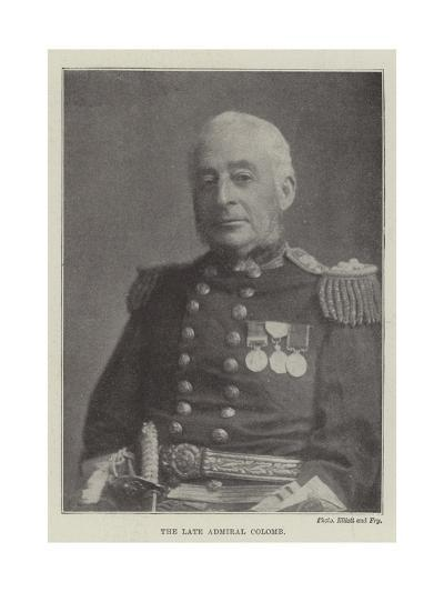The Late Admiral Colomb--Giclee Print
