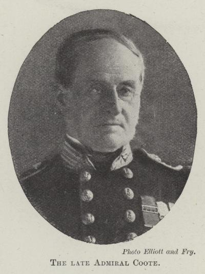 The Late Admiral Coote--Giclee Print