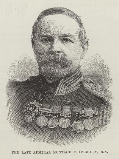 The Late Admiral Montagu F O'Reilly, Rn--Giclee Print