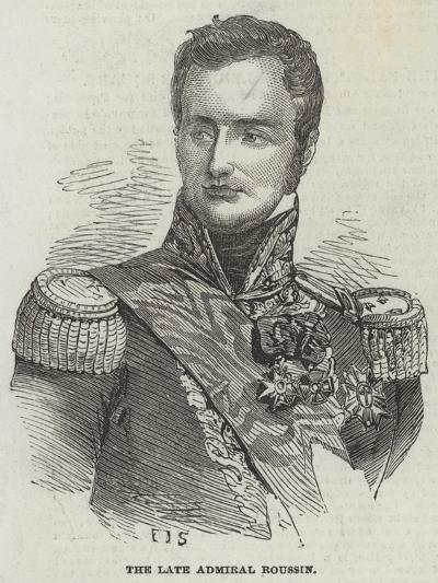 The Late Admiral Roussin--Giclee Print