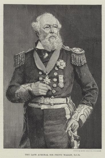 The Late Admiral Sir Provo Wallis--Giclee Print