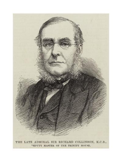 The Late Admiral Sir Richard Collinson, Kcb, Deputy Master of the Trinity House--Giclee Print