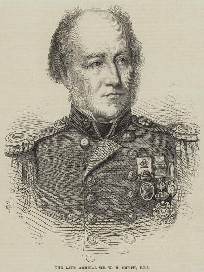 The Late Admiral Sir W H Smyth--Giclee Print
