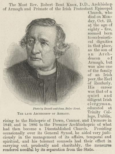 The Late Archbishop of Armagh--Giclee Print