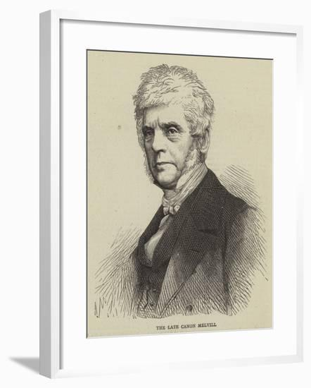 The Late Canon Melvill--Framed Giclee Print