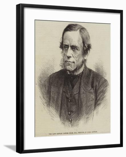 The Late Captain Cowper Coles, Rn, Designer of HMS Captain--Framed Giclee Print