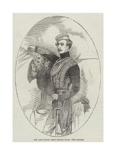 The Late Captain Lewis Edward Nolan, 15th Hussars--Giclee Print