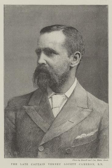 The Late Captain Verney Lovett Cameron, Rn--Giclee Print