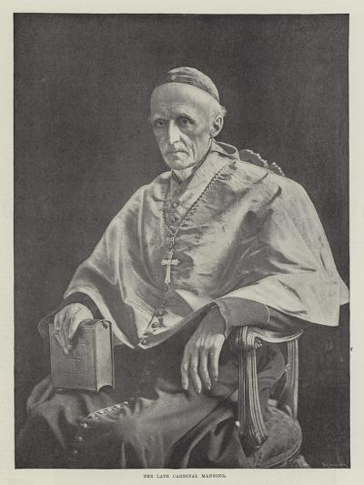 The Late Cardinal Manning--Giclee Print