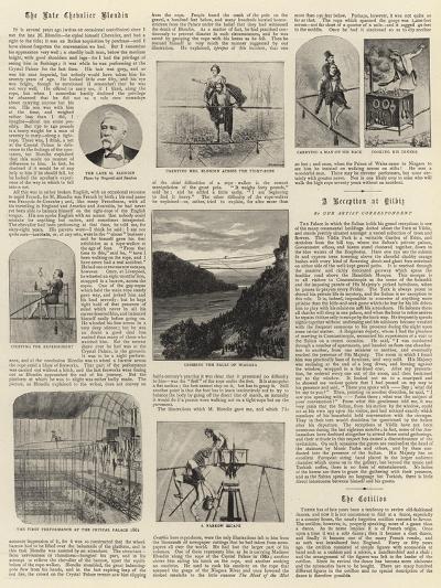 The Late Chevalier Blondin--Giclee Print