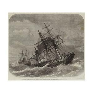 The Late Collision Off the Lizard, HMS Terrible Towing the Calcutta into Plymouth