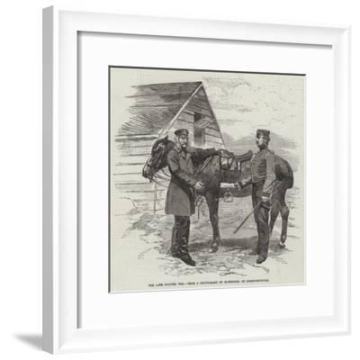The Late Colonel Yea--Framed Giclee Print