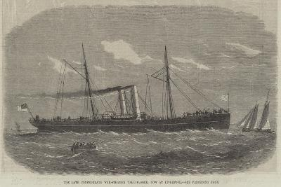 The Late Confederate War-Steamer Tallahassee, Now at Liverpool--Giclee Print
