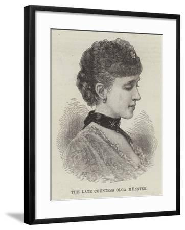 The Late Countess Olga Munster--Framed Giclee Print