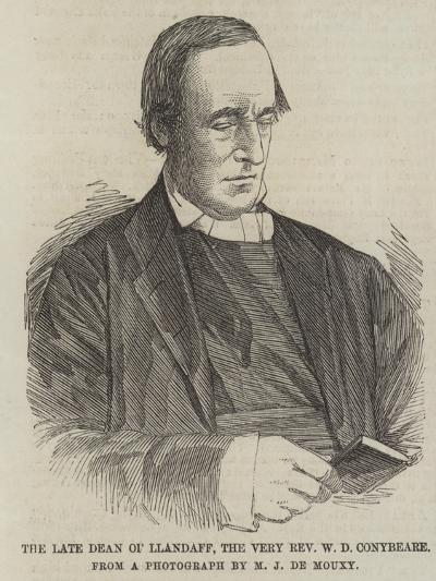 The Late Dean of Llandaff, the Very Reverend W D Conybeare--Giclee Print