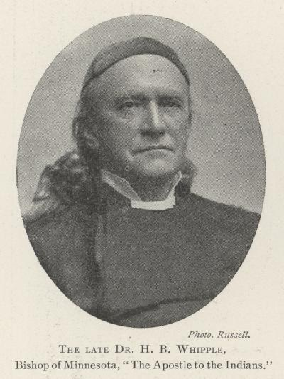 The Late Dr H B Whipple, Bishop of Minnesota, The Apostle to the Indians--Giclee Print