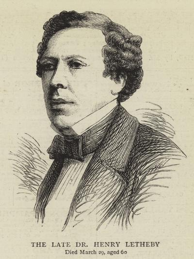 The Late Dr Henry Letheby--Giclee Print