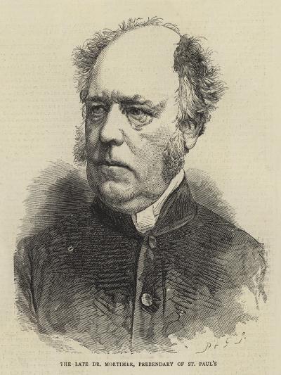 The Late Dr Mortimer, Prebendary of St Paul's--Giclee Print