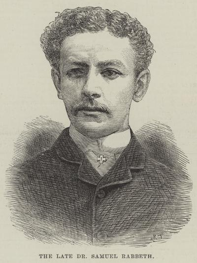 The Late Dr Samuel Rabbeth--Giclee Print