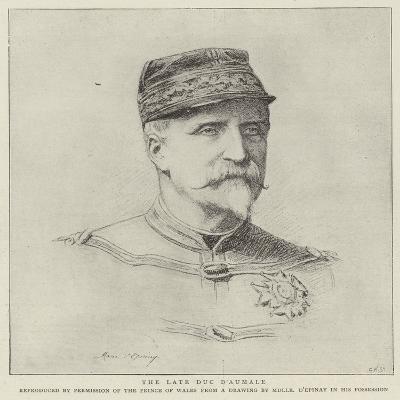 The Late Duc D'Aumale--Giclee Print
