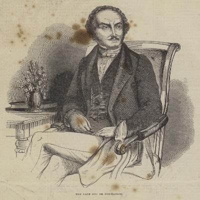 The Late Duc De Normandie--Giclee Print