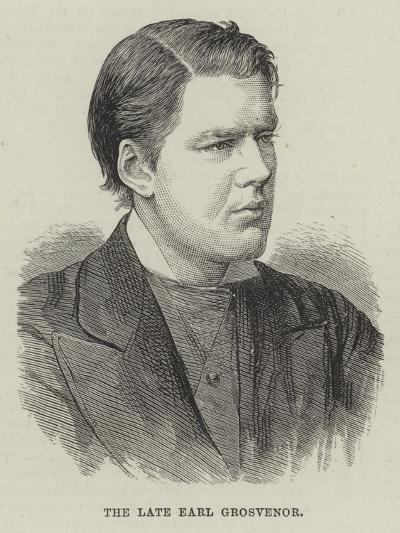 The Late Earl Grosvenor--Giclee Print
