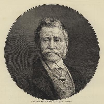 The Late Field Marshal Sir John Burgoyne--Giclee Print