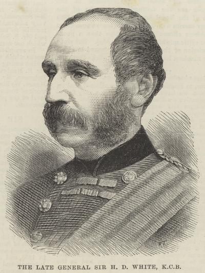 The Late General Sir H D White--Giclee Print