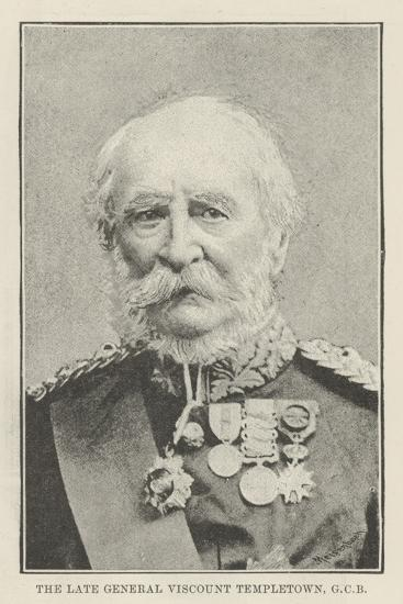 The Late General Viscount Templetown--Giclee Print