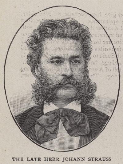The Late Herr Johann Strauss--Giclee Print