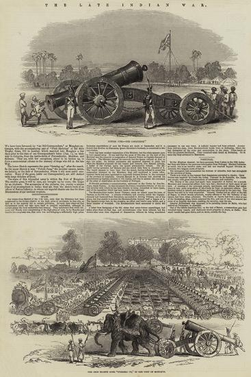 The Late Indian War--Giclee Print