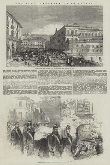 The Late Insurrection in Naples--Giclee Print