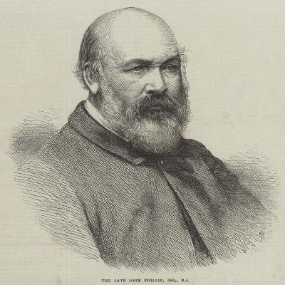 The Late John Phillip--Giclee Print