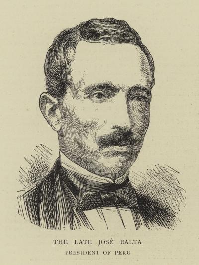The Late Jose Balta--Giclee Print