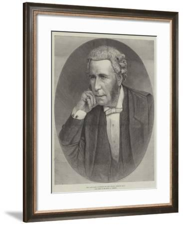 The Late Lord Farnborough (Sir Thomas Erskine May), Late Clerk of the House of Commons--Framed Giclee Print