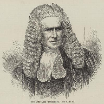 The Late Lord Hatherley--Giclee Print