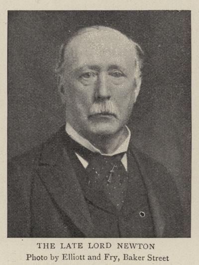 The Late Lord Newton--Giclee Print