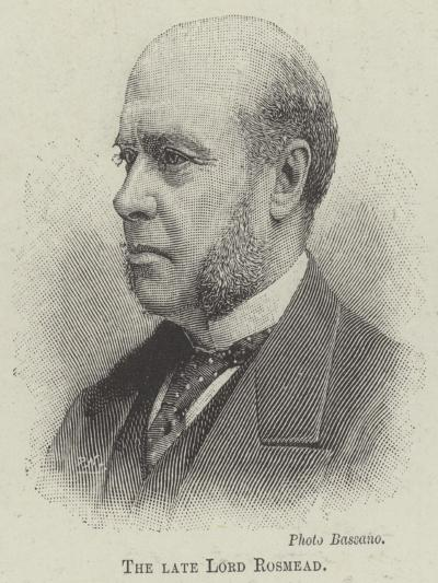 The Late Lord Rosmead--Giclee Print