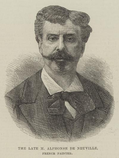 The Late M Alphonse De Neuville, French Painter--Giclee Print