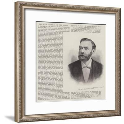 The Late Mr Alfred Nobel--Framed Giclee Print