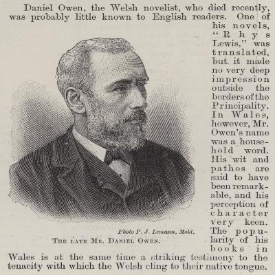 The Late Mr Daniel Owen--Giclee Print