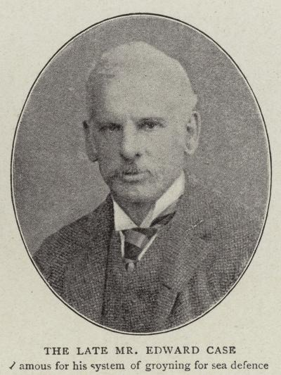 The Late Mr Edward Case--Giclee Print