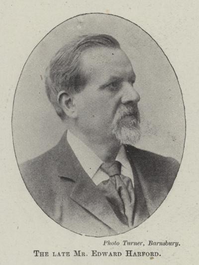 The Late Mr Edward Harford--Giclee Print