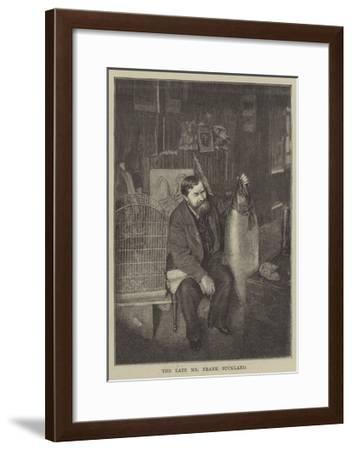 The Late Mr Frank Buckland--Framed Giclee Print