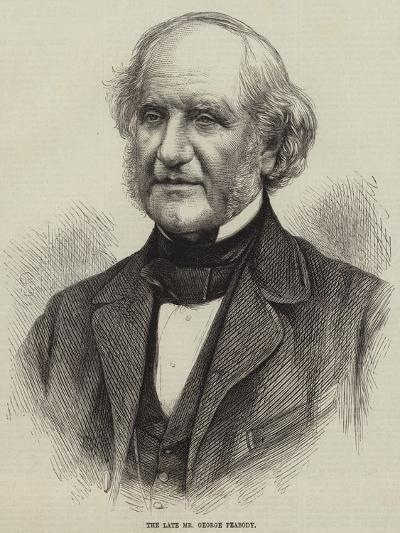 The Late Mr George Peabody--Giclee Print