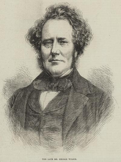 The Late Mr George Wilson--Giclee Print