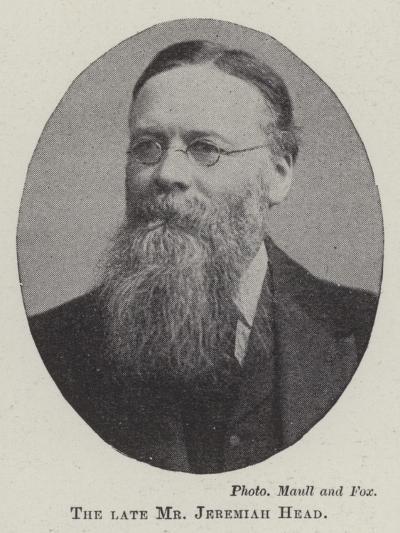The Late Mr Jeremiah Head--Giclee Print